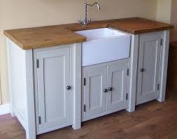 Shabby Chic Freestanding Belfast  Butler Sink Unit Any Farrow - Kitchen sink cupboards