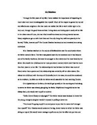 famous person essay Millicent Rogers Museum Example Of Biography Essay Of A Person   Spearow The One And Only     Example Of Biography Essay Of A Person   Spearow The One And Only