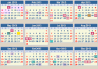 CALENDAR 2013: School terms 2013 and school holidays 2013 South Africa
