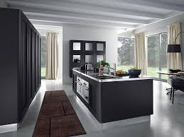 high end appliance with modern kitchen sink on futuristic black