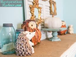 how i shopped my home to decorate for fall restoration redoux