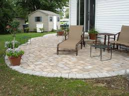 cosy backyard paver patio designs for home design planning with