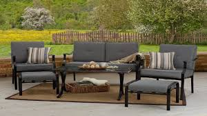 Patio Furniture Set Outdoor Furniture Strathwood 6 Piece All Weather Furniture