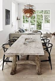 Rustic Modern Dining Room Tables by 104 Best Dining Room Displays Images On Pinterest Dining Room