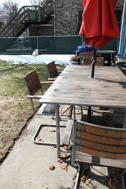 Best Wood Patio Furniture - giving new life to my ikea outdoor furniture