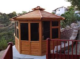 Custom Gazebo Kits by Octagonal Gazebo Sunroom Wood Gazebo Kit For Sale