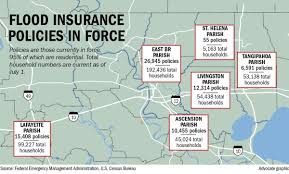 only 1 in 8 ebr residents have flood insurance meaning many will
