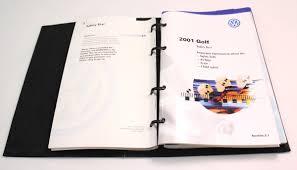 2001 volkswagen golf owners manual book booklet vw mk4 genuine