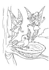 tinkerbell coloring pages getcoloringpages com