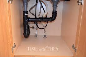 Kitchen Sink Cabinet Storage Ideas  Time With Thea - Kitchen sink cupboards