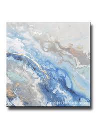 blue u2013 contemporary art by christine