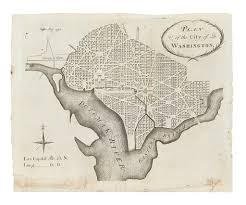Map Of Washington Cities by The Foundation Of A Capital Early Maps Of Washington D C Swann
