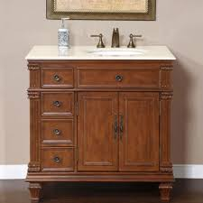 Black Distressed Bathroom Vanity by Bathroom Distressed Bathroom Design With Dark Brown Cherry