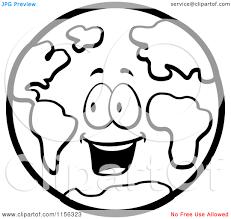 happy earth cartoon clipart panda free clipart images