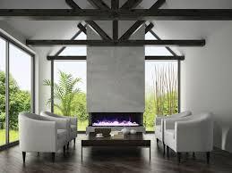 50 Electric Fireplace by 50 Tru View Xl U2013 3 Sided Electric Fireplace Sierra Flame