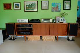 let u0027s see your unique stereo cabinets and entertainment centers