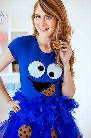 blue halloween costume the joy of fashion halloween cute homemade cookie monster costume