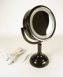 Light Up Makeup Mirror Lighted Makeup Mirror Bronze Roselawnlutheran