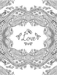homely ideas love coloring pages for adults i love you coloring