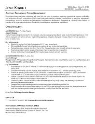 Retail Manager Resume Sample  management resume  production     happytom co