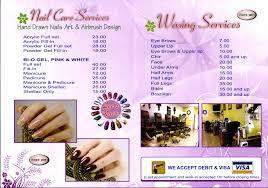 lee u0027s nails services