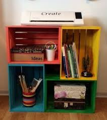 Wooden Crate Bookshelf Diy by Diy Wood Crate Bookshelf Crate Bookshelf Wood Crates And