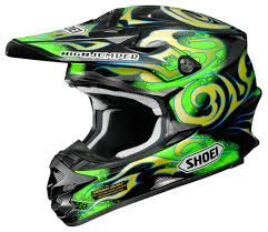 green motocross boots shoei vfx w taka helmet revzilla