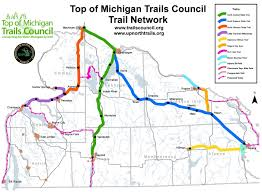 Map Of University Of Michigan by Lots Of Trail Work Planned For Northern Michigan Welcome To The