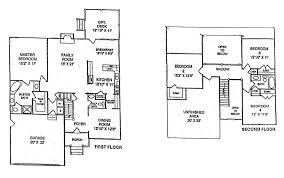 House Plans 2 Story by Bedroom Floor Plans House As Well 2 Story 3 Bedroom Floor Plans 3