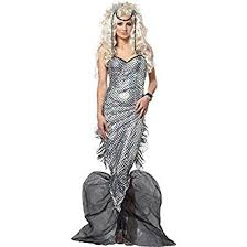 King Neptune Halloween Costume Amazon Womens Mystic Mermaid Halloween Costume Clothing