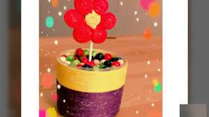3d fabric flower and bottle cap pot diy handmade home decor