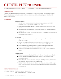 Customer Service Resume Examples   Customer Service Sample Resumes     LiveCareer