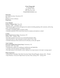 How To Write Job Resume by Sample Resume For A Restaurant Job Httpwwwresumecareerinfo Resume