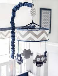 navy and gray crib mobile navy crib mobile gray baby mobile