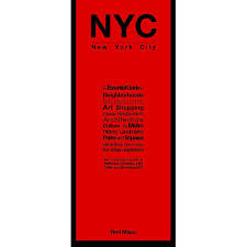 Map New York City by Nyc Manhattan City Guide By Red Maps