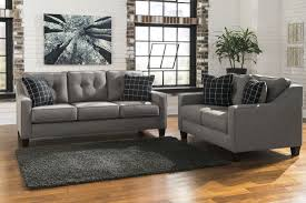 Ashley Furniture Couches Brindon Charcoal Sofa