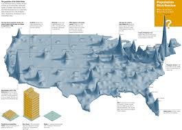 Large Map Of Usa by Population Map Of Usa