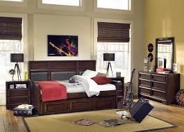 Modern Bedroom Set Dark Wood Baby Nursery Modern Bed Trundle With Kids Bed Set Master Oak
