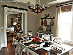 christmas decorations kitchen table ideas simple and beautiful