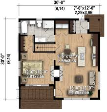 Small Cottage Floor Plans by I Really Like The Interior Of This Small House Contemporary Style