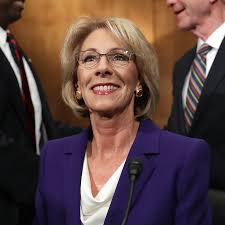 betsy devos confirmed to lead education department as democratic