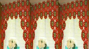 cortinas de colores tejidas a crochet youtube