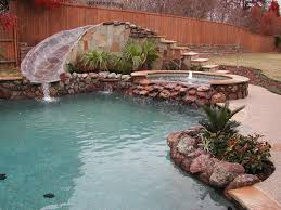 tub slide water feature