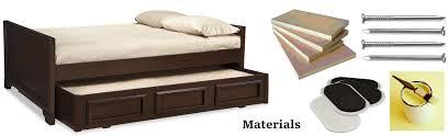 Full Size Trundle Bed Frame Bedroom Metal Trundle Bed Day Beds With Trundle Trundle Bed