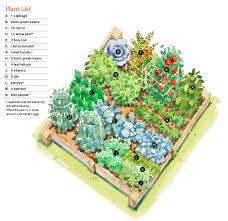 companion vegetable garden layout fall garden tips
