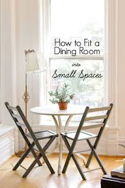 best small dining ideas that you will like pinterest from apartment therapy tips fit dining room into small spaces