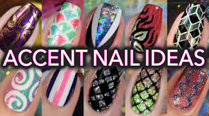 easy accent nail art tutorials compilation youtube