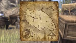 Bal Foyen Treasure Map 1 Survey Maps Elder Scrolls Online Guides