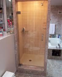 shower stall glass doors single shower doors frameless shower doors