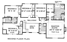 House Plans 5 Bedrooms The Pines 3304 5 Bedrooms And 3 Baths The House Designers